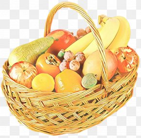 Food Group Vegetable - Basket Food Gift Basket Wicker Natural Foods PNG