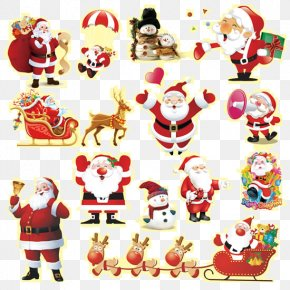 Santa Claus Christmas Decoration - Santa Claus Christmas PNG