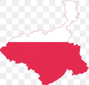 Map - Flag Of Poland Map Flag Of Slovakia PNG