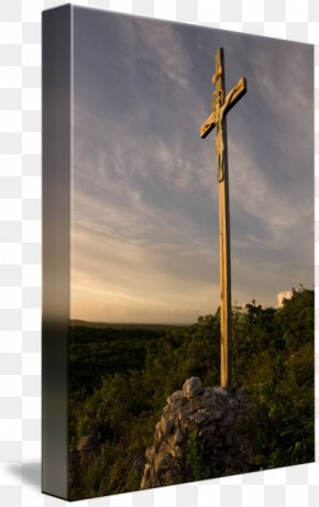 Church Of The Savior On Blood - Crucifix Imagekind Art Energy Poster PNG