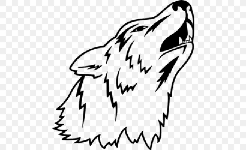 Gray Wolf Cartoon Drawing Png 500x500px Gray Wolf Animated Film Art Artwork Beak Download Free