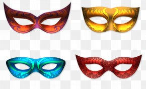 Light Effect Gathering Goggles - Carnival Of Venice Mask Euclidean Vector PNG