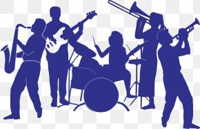 People Blue Band - Musical Ensemble Euclidean Vector PNG