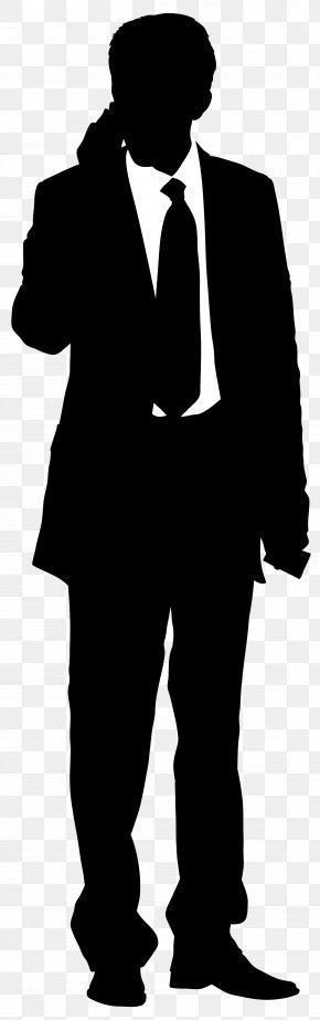 Businessman Silhouette Clip Art Image - Clip Art PNG