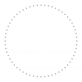 White Dots Cliparts - White Circle Area Angle Font PNG