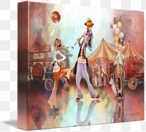 Painting - Painting Gallery Wrap Canvas Art Poster PNG