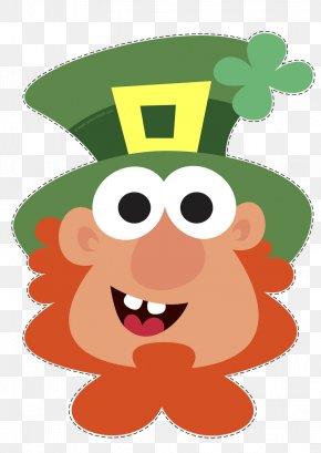 Saint Patrick's Day - Saint Patrick's Day Leprechaun Clip Art PNG