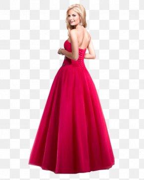 Dress - Dress Evening Gown Chiffon Formal Wear Satin PNG