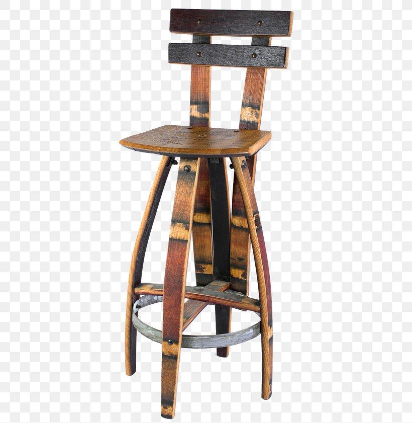 Bar Stool Wine Whiskey Oak Barrel Png