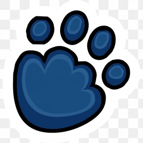Picture Of Paw Print - Club Penguin Polar Bear Dog PNG