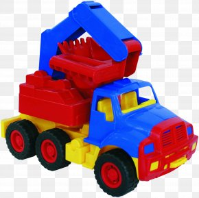 Toy - Toy Model Car Excavator Plastic Bucket PNG