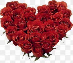 Heart Of Roses Clipart - Garden Roses Floribunda Floral Design Cut Flowers Flower Bouquet PNG