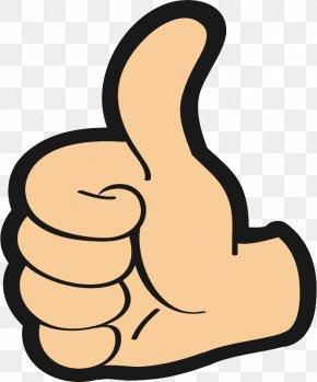 Symbol Gesture - Clip Art Finger Thumb Hand Gesture PNG
