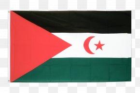 Flag - Western Sahara Flag Of Jordan Fahne National Flag PNG