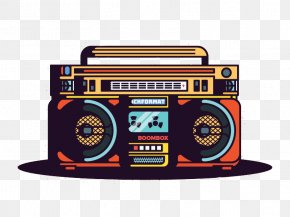 Radio - Boombox Graphic Design Radio PNG