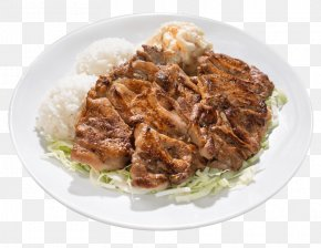 Fried Fish - Cuisine Of Hawaii Barbecue Grill Barbecue Chicken Macaroni Salad Dish PNG