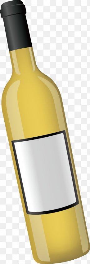 Wine Bottle Decoration Design Vector - Wine Bottle Computer File PNG