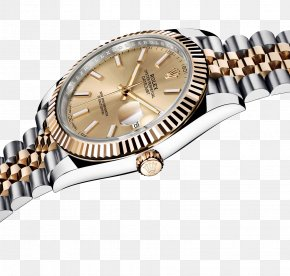 Rolex Gold Watch Male Table - Rolex Datejust Counterfeit Watch Automatic Watch PNG
