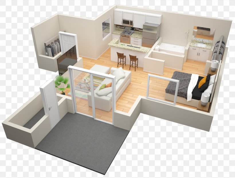 Floor Plan Studio Apartment Bedroom House Png 2500x1899px Floor Plan Apartment Bed Bedroom Floor Download Free