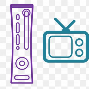 Television Set Amazon Fire Tv Stick - Tv Cartoon PNG