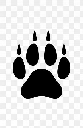 Wolf Paw - Dog Arctic Wolf Paw Clip Art PNG