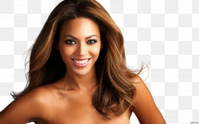 Beyonce Knowles - Hair Iron Hairstyle Long Hair Black PNG