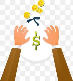 Vector Money Bag - Money Bag Investment PNG