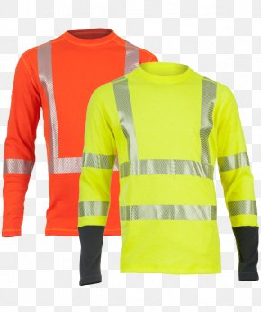 T-shirt - T-shirt High-visibility Clothing Sleeve PNG