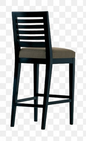 Chair Silhouette Painted Chair - Table Chair Bar Stool Furniture PNG