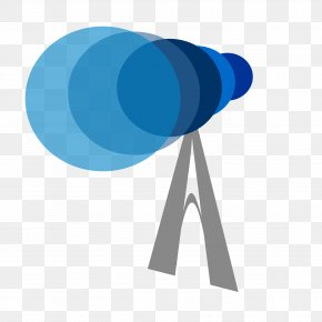 Astronomy - Telescope Clip Art PNG
