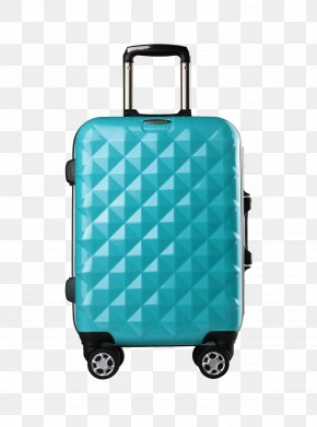 Travel Box - Suitcase Hand Luggage Travel Trolley Diamond PNG