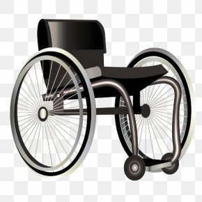 Vector Wheelchair - Wheelchair Disability PNG