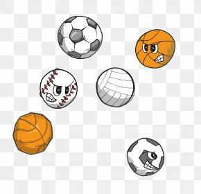 All Kinds Of Cartoon Ball - Ball PNG