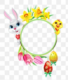 Hair Accessory Film Frame - Easter Egg Background PNG