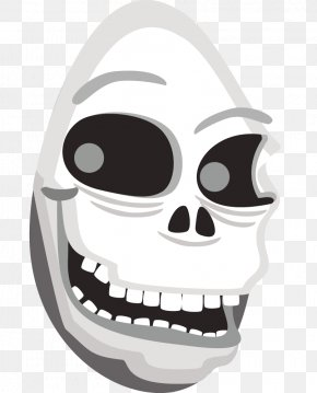 Evil Skull Cliparts - Human Skull Symbolism Clip Art PNG