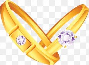 Wedding Ring - Earring Wedding Ring Clip Art PNG