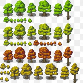 Sprite - RPG Maker MV Tree Tile-based Video Game RPG Maker VX Role-playing Video Game PNG
