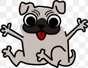 Pet Cliparts - Pug Puppy Cat Funny Animal Clip Art PNG