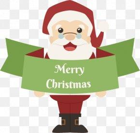 Vector Santa Claus - Santa Claus Logo Euclidean Vector Illustration PNG