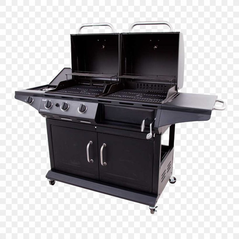 Barbecue Grilling Char-Broil Char-Griller Duo Backyard Grill Dual Gas/Charcoal, PNG, 1000x1000px, Barbecue, Backyard Grill Dual Gascharcoal, Barbecue Grill, Bbq Smoker, Charbroil Download Free
