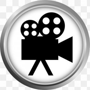 Video Icon - Photographic Film Video Cameras Clip Art PNG