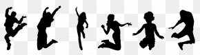 Trampoline - Trampoline Jumping Trampolining Silhouette PNG