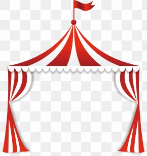 Circus Tent - Circus Tent Clip Art PNG