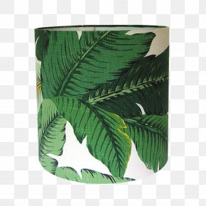 Green Palm Leaves Decorated - Lamp Shades Window Blinds & Shades Light Fixture Table PNG