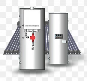 Hot Water - Solar Water Heating Water Supply Network Hot Water Storage Tank PNG