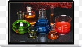 Laboratory Glassware - Laboratory Glassware Glass Bottle PNG