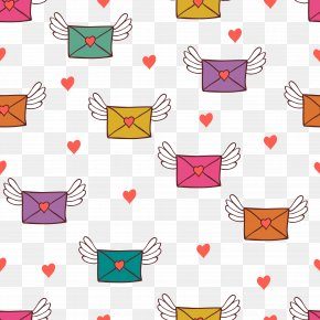 Vector Background Love Letter - Love Letter Illustration PNG