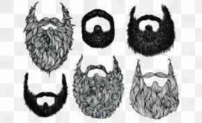 Hand-painted Beard Element - World Beard And Moustache Championships Drawing Stock Illustration PNG