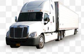 Truck - Car Semi-trailer Truck Van Vehicle PNG