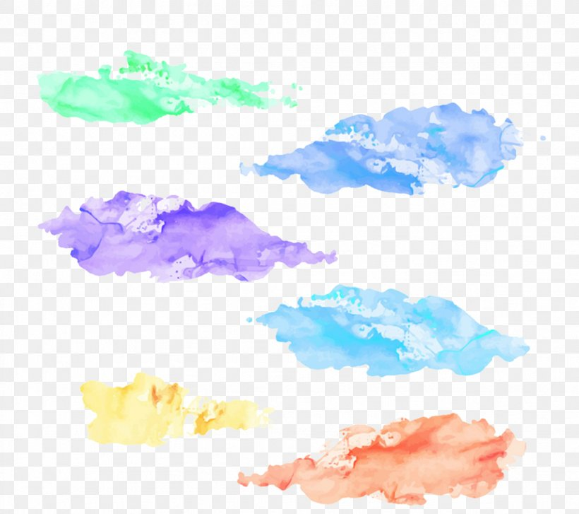Download, PNG, 1023x907px, Watercolor Painting, Blue, Designer, Distemper, Pattern Download Free
